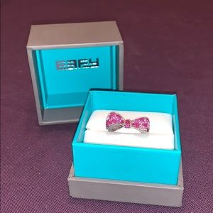 Effy Pink Sapphire Bow Ring